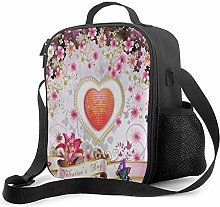 Heart Flowers Btterfly Leakproof Insulated
