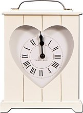 Heart Mantle Clock Brambly Cottage