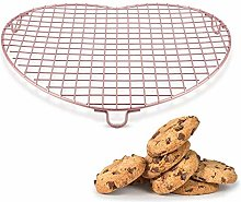 Heart Shaped Cooling Rack,Cake Biscuit Pie