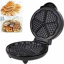 Heart Waffle Maker- Non-Stick Waffle Griddle Iron-