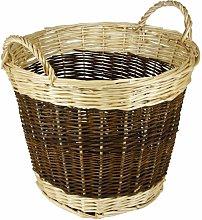 Hearth & Home Two Tone Log Basket 48cm - HH310
