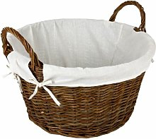 Hearth & Home Wicker Log Basket With Removable