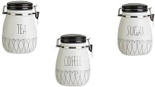Heartlines Storage Jars Canister Dolomite For Home