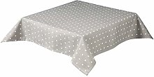 Hearts Tablecloth in a Quality Cotton Poly Fabric