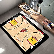 Heat Carpets for Teen Boys Gifts Basketball Area