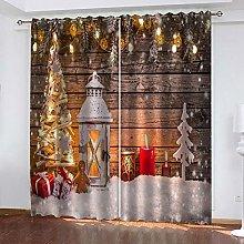Heat insulating blackout curtain, Christmas tree