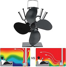 Heat Powered Stove Fan, Thermal Power Supply Stove