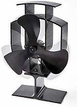 Heat Powered Wood Burner/Stove Top Fire Fan H22cm