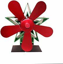 Heat Powered Wood Stove Fan, Wood Fireplace Fan, 5