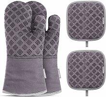 Heat Proof Gloves Heat Resistant Pot Holder Pad
