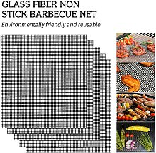 Heat-resistant BBQ Grill Mat Barbecue Outdoor