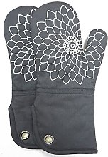 Heat Resistant Kitchen Oven Gloves With Non-Slip