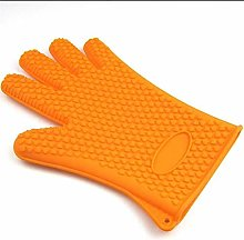 Heat Resistant Silicone Kitchen and BBQ Gloves
