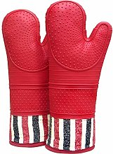 Heat-resistant silicone oven gloves 550 Degree 1