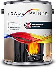 Heat Resistant Stove Wood Burner Fireplace Enamel