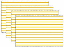 Heat-Resistant Table Placemats Set Of 6,Yellow