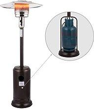 HEATSURE Outdoor Gas Patio Heater Bronze Powder