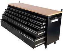 "Heavy Duty 72"" Work Bench Tool Box Chest"