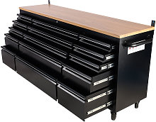 Heavy Duty 72' Work Bench Tool Box Chest