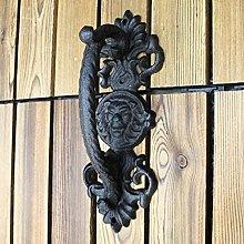 Heavy Duty Antique Barn Door Handle, Large Rustic
