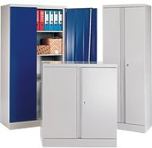 Heavy Duty Cupboard, Green, Free Standard Delivery