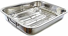 Heavy Duty Extra Large Rectangular Stainless Steel