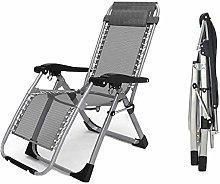 Heavy Duty Folding Zero Gravity Chairs Office Deck