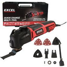 Heavy Duty Oscillating Multi-Tool with Quick