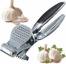 Heavy Duty Stainless Steel Garlic Press Crusher