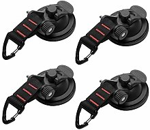Heavy Duty Suction Cups, Car Camping Tie Down