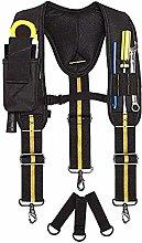 Heavy Duty Tool Belt Suspenders,Comfortable to