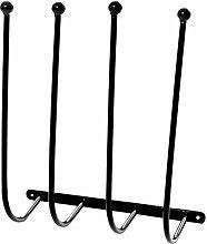 Heavy Duty Wall Mounted Metal Wellington Boot Rack
