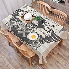 Heavy Weight Tablecloth for Rectangle,New