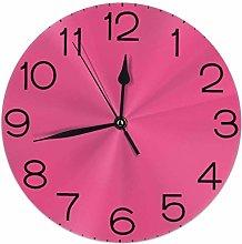 Hebb Round Wall Clock Shelf Clock Vintage Solid