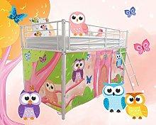 HedgehogEmporium Midsleeper Tent for Cabin Bed,