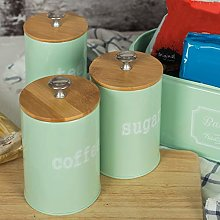 heDIANz, Storage Canister 3Pcs/Set Kitchen Spice