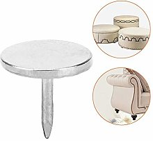 HEEPDD 100Pcs Upholstery Nail, Round Antique