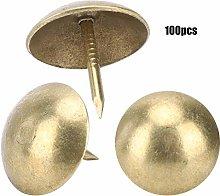 HEEPDD 100Pcs Upholstery Nail, Upholstery Tacks