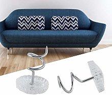 HEEPDD Twist Pins, Clear Heads Upholstery Twist