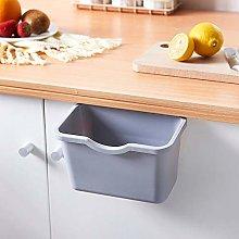 Hefine Kitchen Hanging Garbage Bin,Portable Over