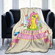 hehai Fluttershy's Animal Care Blankets Throw