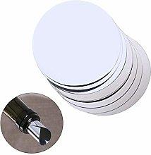 HEHUANG 20pcs Silver Aluminum Foil Wine Pourer