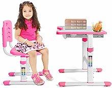 Height-adjustable children's desk,