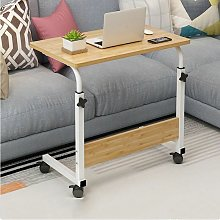 Height-adjustable computer table Solid wood laptop