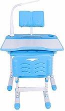 Height Adjustable Kids Study Desk Chair Set, Kids