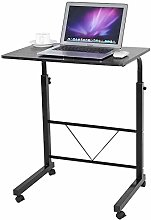 Height Adjustable Lap Table Portable Mobile Laptop