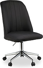 Height-Adjustable Office Chair, Swivel Executive
