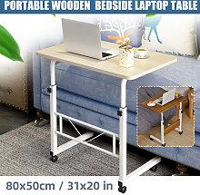 Height Adjustable Rolling Laptop Desk Hospital