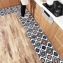 HEIMIU 2 Piece Non-Slip Kitchen Front Sink Mat