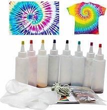 heirao4072 DIY Tie Dye Kits, Permanent One Step